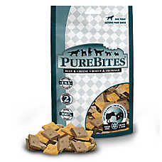 PureBites® Freeze Dried Dog Treat - Natural, Beef & Cheese