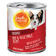 Good Natured™ Dog Food - Natural, Beef & Vegetable, Casserole