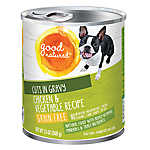 Good Natured™ Dog Food - Natural, Grain Free, Chicken & Vegetable, Cuts in Gravy