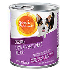 Good Natured™ Dog Food - Natural, Lamb & Vegetable, Casserole