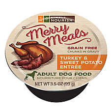 Simply Nourish™ Merry Meals Adult Dog Food - Grain Free, Turkey & Sweet Potato