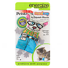 Petstages® Geeky Squeek Mouse Cat Toy