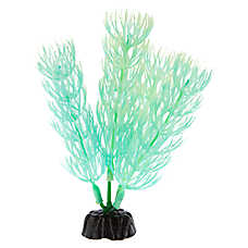 Top Fin® Mini Glow Neon Green Aquarium Plant
