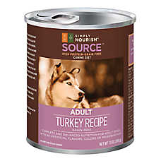 Simply Nourish™ Source Adult Dog Food - Grain Free, High Protein, Turkey