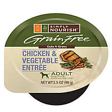 Simply Nourish™ Adult Dog Food - Grain Free, Chicken & Vegetable