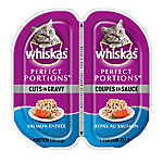 WHISKAS® Perfect Portions® Cuts In Gravy Cat Food - Salmon