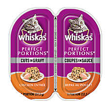 WHISKAS® Perfect Portions® Cuts In Gravy Cat Food - Chicken