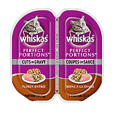 WHISKAS® Perfect Portions® Cuts In Gravy Cat Food - Turkey