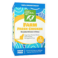 Only Natural Pet Cat Food - Natual, Grain Free, Chicken, 3 Pack