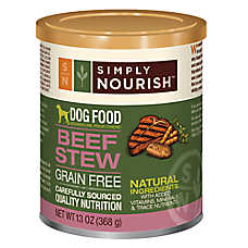 Simply Nourish™ Dog Food - Natural, Grain Free, Beef Stew