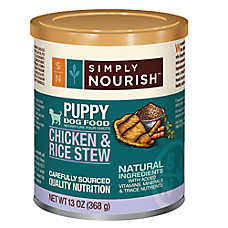 Simply Nourish™ Puppy Food - Natural, Chicken & Rice Stew