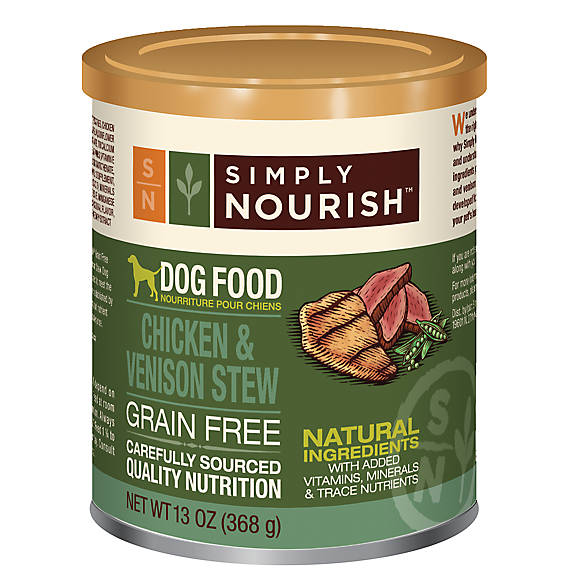 Free Simply Nourish Dog Food Petsmart