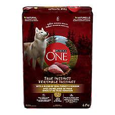 Purina® ONE® SmartBlend True Instinct Adult Dog Food - Turkey & Venison