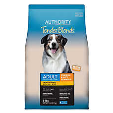 Authority® Tender Blends Adult Dog Food - Chicken & Rice