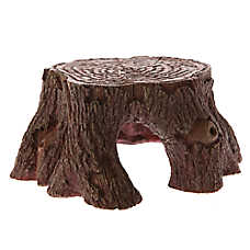 All Living Things® Tree Trunk Reptile Ornament