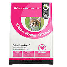 Only Natural Pet PowerFood Kitten Food - Natural, Grain Free, Chicken, Turkey Meal