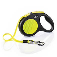 flexi® New Classic Retractable Neon Tape Dog Leash