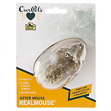 OurPets® Jitter Mouse Cat Toy