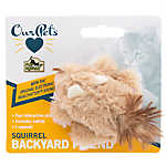 OurPets® Backyard Squirrel Cat Toy
