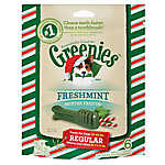GREENIES® Seasonal Regular Dental Dog Treat - Freshmint