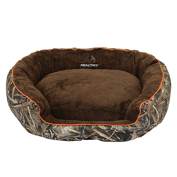 Perfect REALTREE® Camo Bolster Dog Bed | dog Cuddler Beds | PetSmart VH44