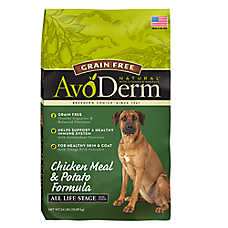 AvoDerm® Natural Dog Food - Grain Free, Chicken Meal & Potato