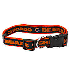 Pets First Chicago Bears NCAA Dog Collar
