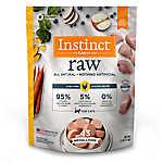 Nature's Variety® Instinct® Raw Medallions Cat Food - Natural, Grain Free, Frozen Raw, Chicken