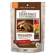 Nature's Variety® Instinct® Raw Market Nuggets Dog Food - Natural, Grain Free, Freeze Dried, Beef