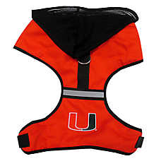 Miami Hurricanes NCAA Dog Harness