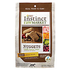Nature's Variety® Instinct® Raw Market Nuggets Dog Food - Natural, Grain Free, Freeze Dried, Chicken