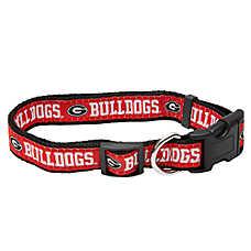 Georgia Bulldogs NCAA Dog Collar