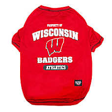 Pets First Wisconsin Badgers NCAA T-Shirt