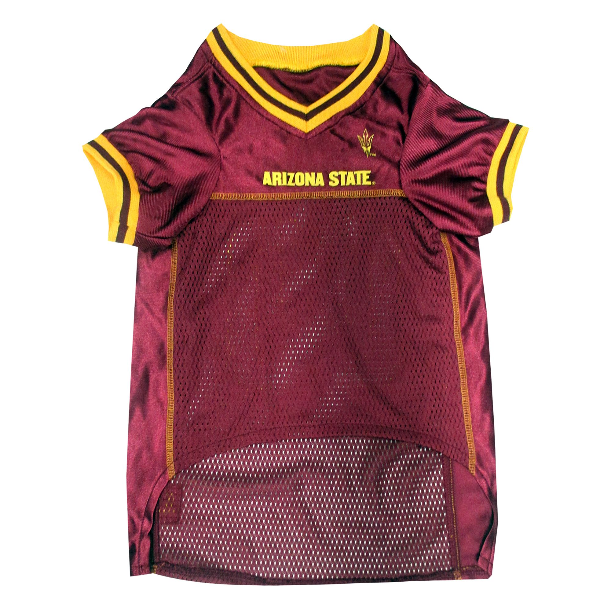 NCAA Arizona State Sun Devils Athletic Mesh Dog Jersey