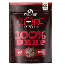 Wellness® CORE® Dog Treat - Natural, Grain Free, Freeze Dried Raw, Beef