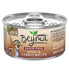 Purina® Beyond Natural Cat Food - Grain Free, Quail & Carrot