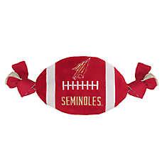 Florida State Seminoles NCAA Flattie Crinkle Football Toy