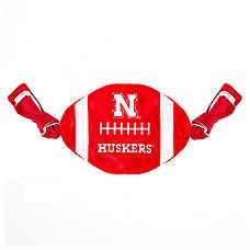 Nebraska Cornhuskers NCAA Flattie Crinkle Football Toy