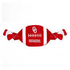 Oklahoma Sooners NCAA Flattie Crinkle Football Toy