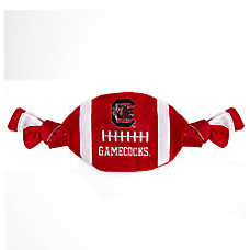 South Carolina Gamecocks NCAA Flattie Crinkle Football Toy