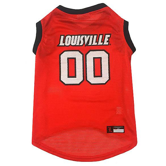 Louisville University Cardinals NCAA Mesh Pet Jersey  f63562d75