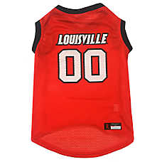 Louisville University Cardinals NCAA Mesh Pet Jersey c31a57870