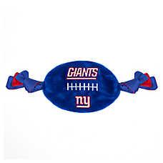 New York Giants NCAA Flattie Crinkle Football Toy
