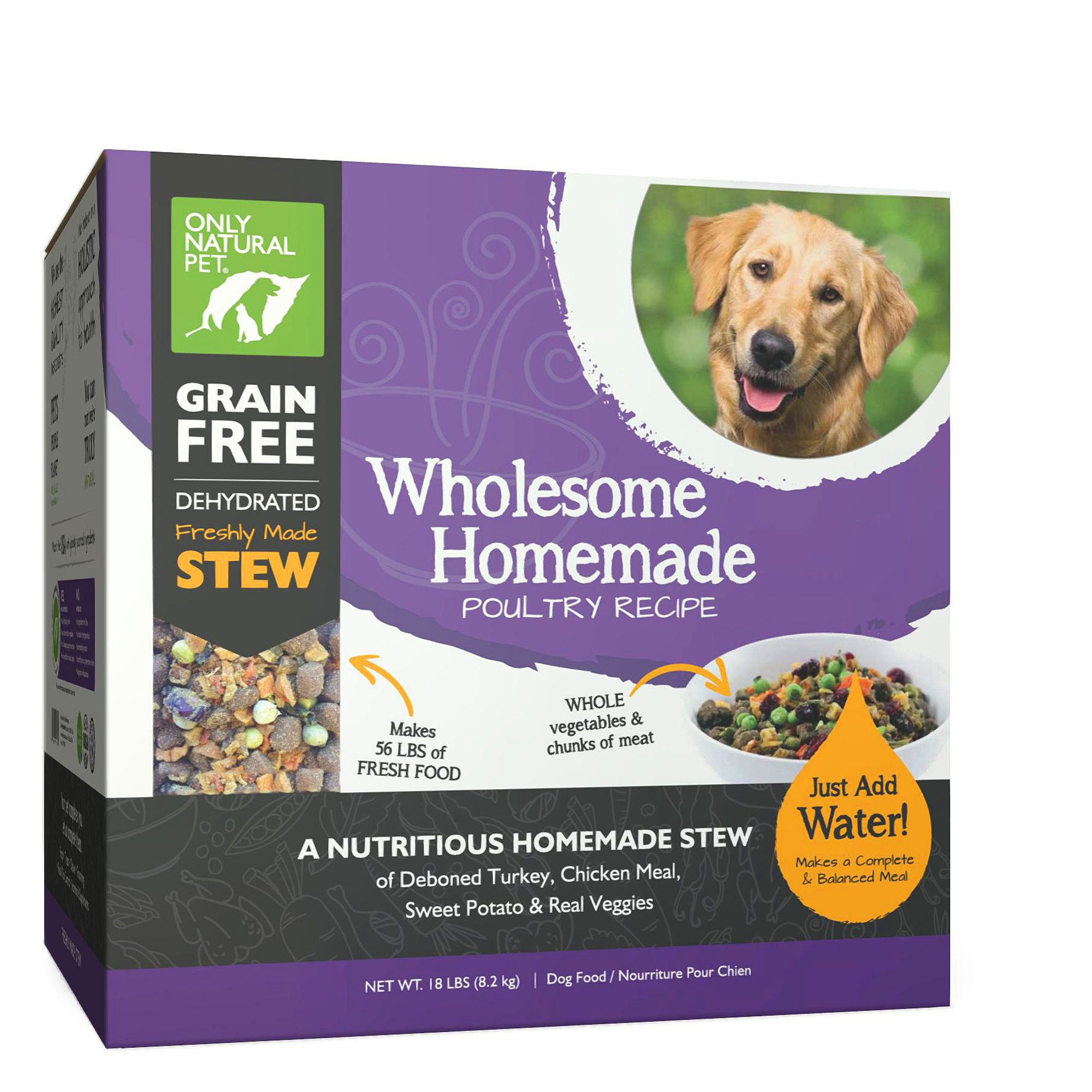 Only Natural Pet Wholesome Homemade Dog