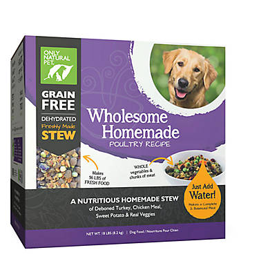 Only Natural Pet Wholesome Homemade Dog Food Grain Free