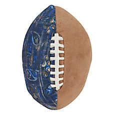 MuttNation Patchwork Football Dog Toy