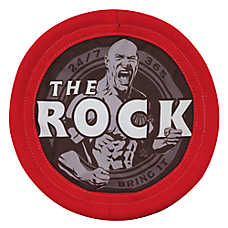 WWE The Rock Flyer Dog Toy