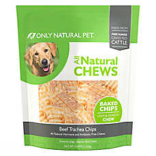 Only Natural Pet All Natural Chews Dog Treat - Beef Trachea Chips