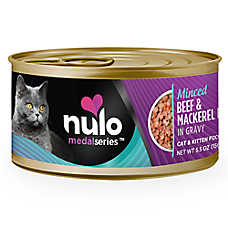 Nulo MedalSeries Cat & Kitten Food - Grain Free, Beef & Mackerel