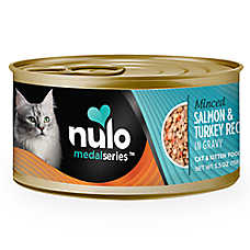 Nulo MedalSeries Cat & Kitten Food - Grain Free, Salmon & Turkey